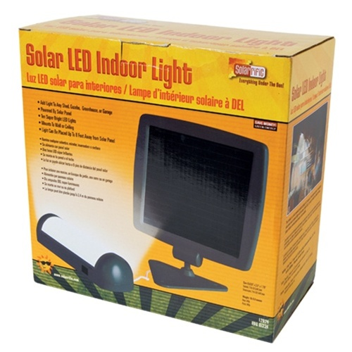 Solarrific Solar Indoor Shed Light