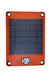 C5019 4W Solar Charger with 2000 mAh External Battery for Mobile Phones and Small 5V Digital Devices (Orange)