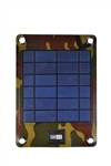 C5020 4W Solar Charger with 2000 mAh External Battery for Mobile Phones and Small 5V Digital Devices (Camouflage)