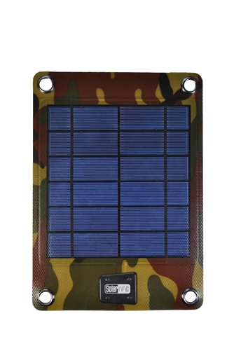 C5020 4w Solar Charger With 2000 Mah External Battery For